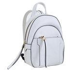 Сумка-рюкзак, белый средний, 25x18x8.5