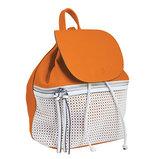 Сумка-рюкзак, рыжая, 29x25x17