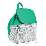 Сумка-рюкзак, зеленая, 29x25x17