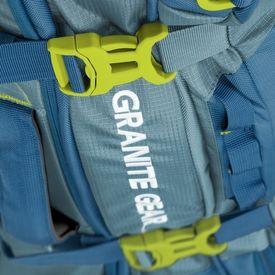 Предварительный просмотр фотографии Granite Gear Cross Wheeled Trek 131 Bleumine/Blue Frost/Neolime