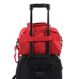 Предварительный просмотр фотографии Members Essential On-Board Travel Bag 12.5 Red