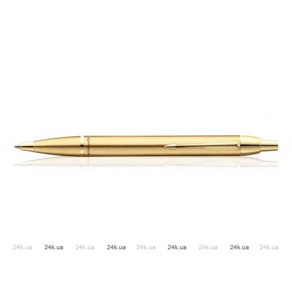 Ручка шариковая Parker IM Premium K323 Green CT M чернила синие 1931643