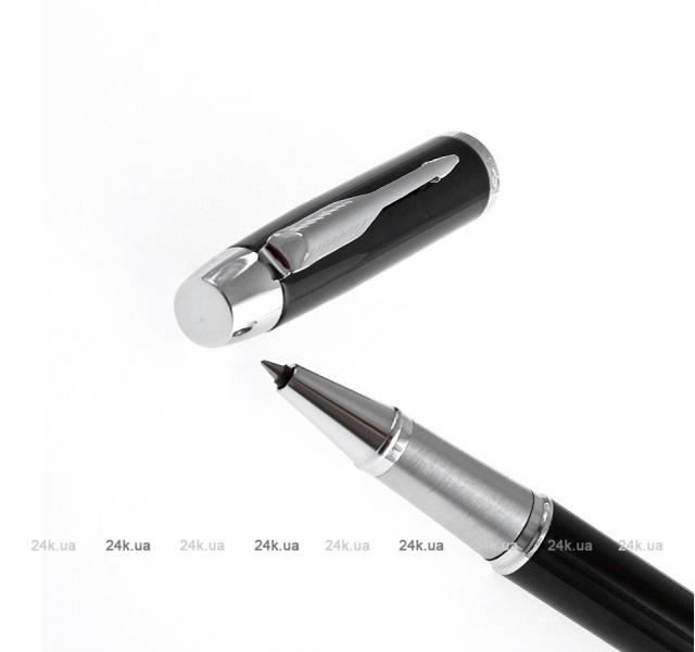 Ручка-роллер Waterman Hemisphere Steel GT F чернила черные корпус серебристый S0920350