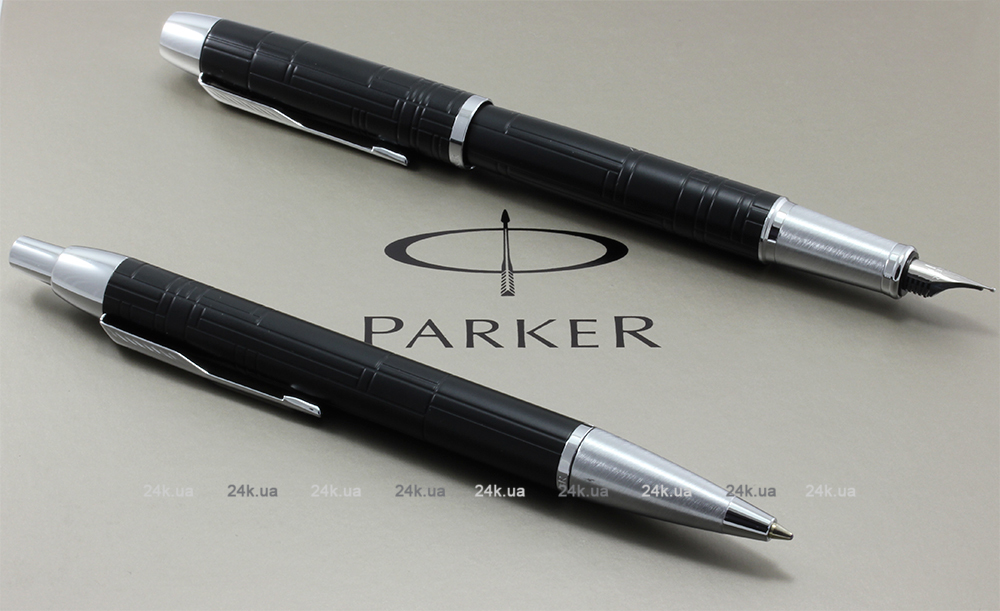 Ручка Parker Jotter Stainless Steel GT Blue 1mm 1953182