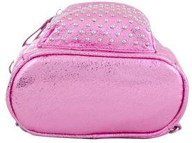 Предварительный просмотр фотографии YES! Сумка-рюкзак, розовая, 17x20x8см
