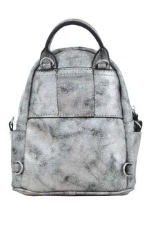 Предварительный просмотр фотографии YES! Сумка-рюкзак, темно-серая, 17x20x8см