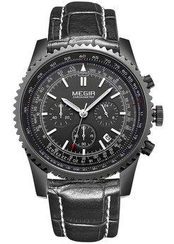 Часы Megir Black MG2007