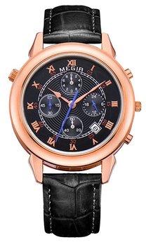 Часы Megir Gold Black MG2013