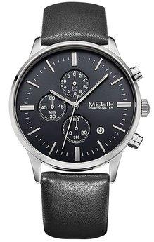 Часы Megir Silver Black MG2011