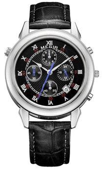 Часы Megir Silver Black MG2013