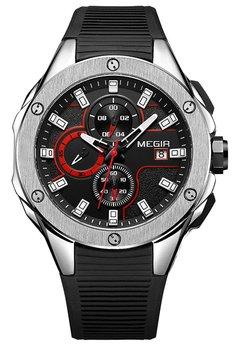 Часы Megir Silver Black MG2053