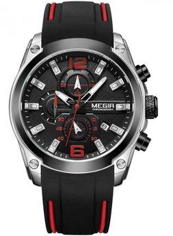 Часы Megir Silver Black MG2063