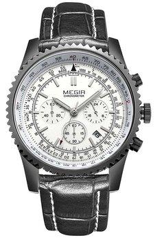 Часы Megir White Black MG2007
