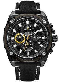 Часы Megir Black MG2054