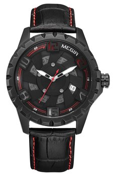 Часы Megir Black Red MG1074