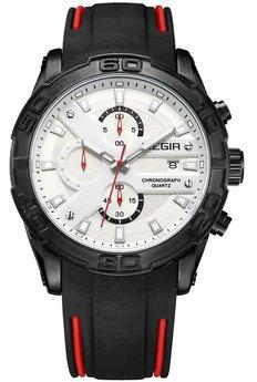 Часы Megir Black White Black MG2055