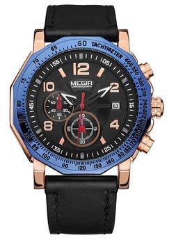 Часы Megir Blue Black MG2048