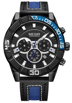 Часы Megir Blue Black MG2066