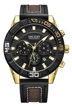 Часы Megir Gold Black MG2066