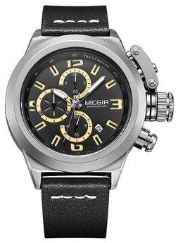Часы Megir Silver Black MG2029