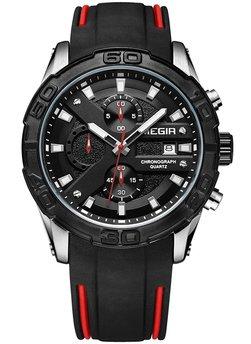 Часы Megir Silver Black MG2055