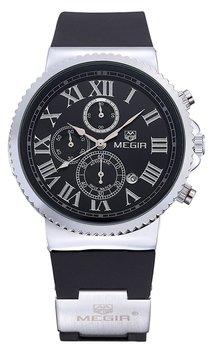 Часы Megir Silver Black MG3007