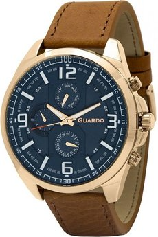 Часы Guardo B01361 RgBlBr
