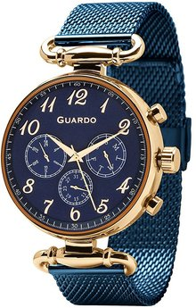 Часы Guardo P11221(m) RgBlBl