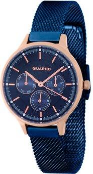 Часы Guardo P11636(m) RgBlBl