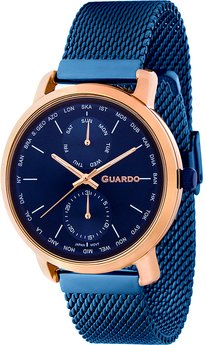 Часы Guardo P11897(m) RgBlBl