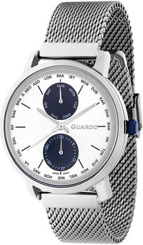 Часы Guardo P11897(m) SS