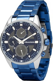 Часы Guardo P11999(m2) SBlBl