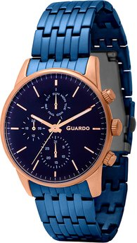 Часы Guardo P12009(m2) RgBlBl