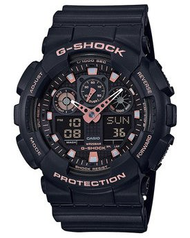 Часы Casio GA-100GBX-1A4ER