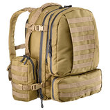 Full Modular Molle Pockets 60 (Coyote Tan)