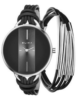 Женские часы Elixa E096-L372-K1 Мужские часы Orient EM0501LU