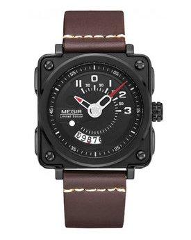 Часы Megir Black Brown MG2040