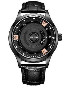 Часы Megir Black MG1067