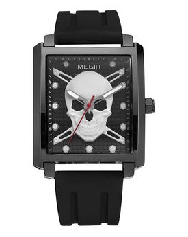 Часы Megir Black MG1075