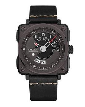 Часы Megir Black MG2040