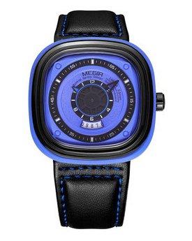 Часы Megir Blue Black MG2027