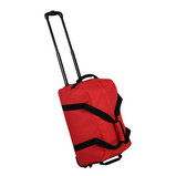 Holdall On Wheels Small 42 Red