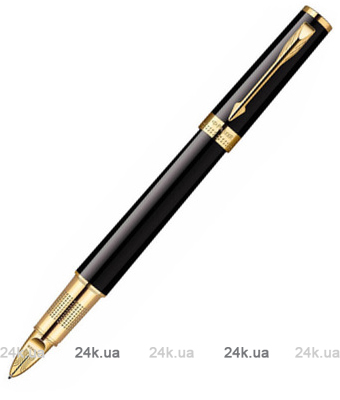 Ручка Parker Ingenuity Black Lacquer GT 5TH 90 652