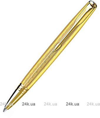Ручка Parker Sonnet 08 Mono Chiselled Gold GT BP 85 430G