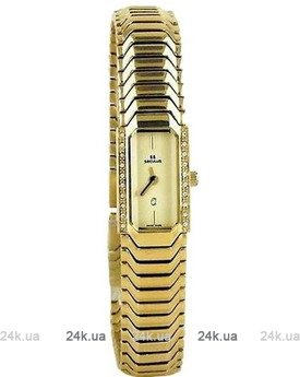 Часы Seculus 1634.2.732 pvd with stones case, yellow dial, pvd