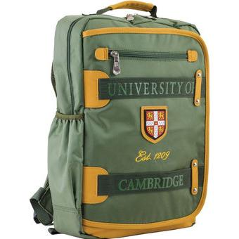 Рюкзак YES! CA 076, зеленый, 29x43x12