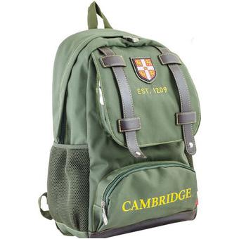 Рюкзак YES! CA 080, зеленый, 31x47x17