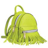 Сумка-рюкзак, салатовая, 19.5x17x13