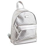 Сумка-рюкзак, серая, 23.5x33x11см