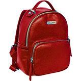 Сумка-рюкзак, красная, 17x9x25см